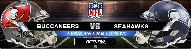 Tampa Bay Buccaneers vs Seattle Seahawks 11-03-2019 Odds Spread and Picks