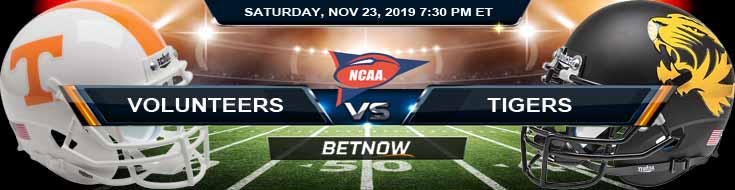 Tennessee Volunteers vs Missouri Tigers 11-23-2019 Game Analysis Picks and Predictions