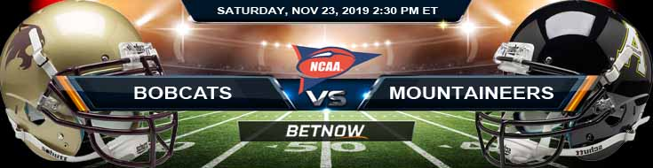 Texas State Bobcats vs Appalachian State Mountaineers 11-23-2019 Picks Odds and Game Analysis