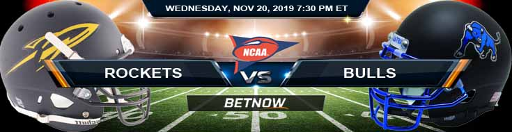 Toledo Rockets vs Buffalo Bulls 11-20-2019 Spread Odds and Game Analysis