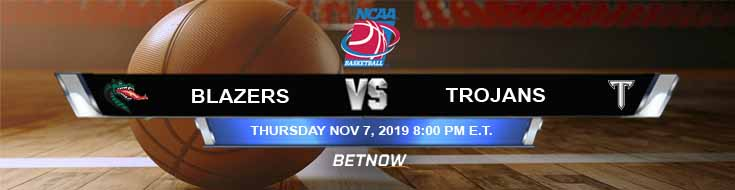 UAB Blazers vs Troy Trojans 11-07-2019 Odds Game Analysis and Previews