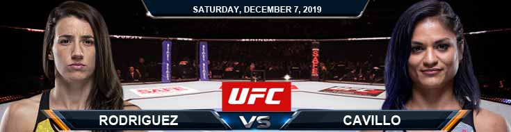 UFC on ESPN 7 Rodriguez vs Cavillo 12-07-2019 Odds Picks and Preview