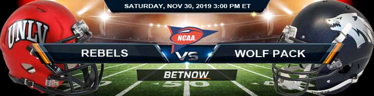 UNLV Rebels vs Nevada Wolf Pack 11-30-2019 Game Analysis Picks and Odds