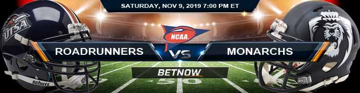 UTSA Roadrunners vs Old Dominion Monarchs 11-09-2019 Game Analysis Predictions and Previews
