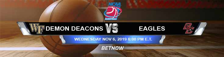 Wake Forest Demon Deacons vs Boston College Eagles 11-06-2019 Odds Game Analysis and Picks