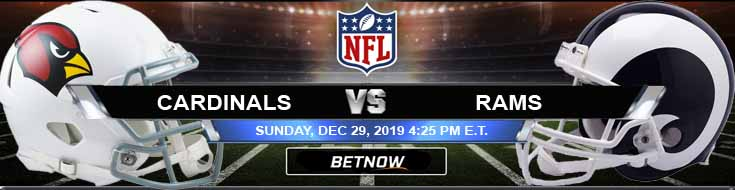 Arizona Cardinals vs Los Angeles Rams 12-29-2019 Game Analysis Odds and Picks