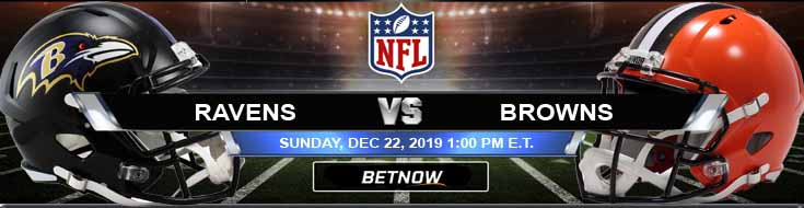 Baltimore Ravens vs Cleveland Browns 12-22-2019 Picks Predictions and Previews