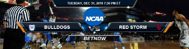 Butler Bulldogs vs St. John's Red Storm 12-31-2019 Spread Odds and Previews
