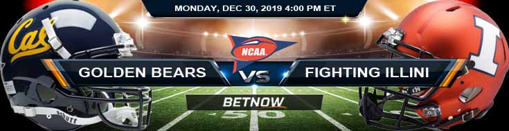 California Golden Bears vs Illinois Fighting Illini 12-30-2019 Game Analysis Previews and Odds