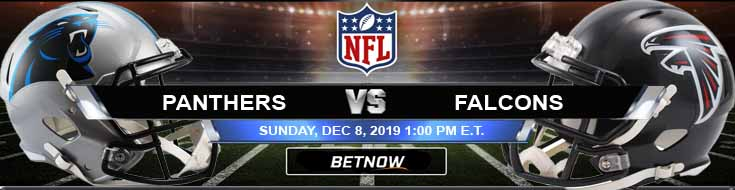 Carolina Panthers vs Atlanta Falcons 12-08-2019 Game Analysis Spread and Odds