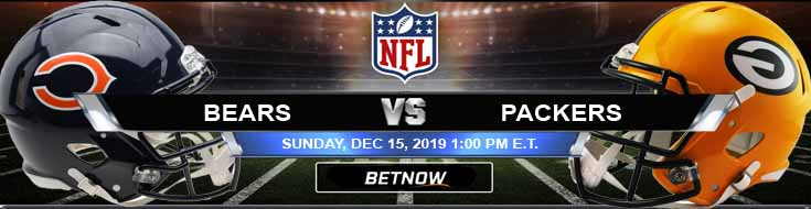 Chicago Bears vs Green Bay Packers 12-15-2019 Spread Game Analysis and Picks