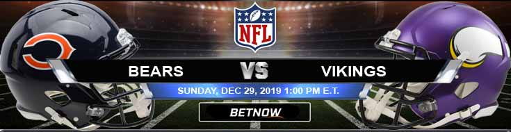 Chicago Bears vs Minnesota Vikings 12-29-2019 Picks Predictions and Previews