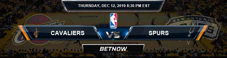 Cleveland Cavaliers vs San Antonio Spurs 12-12-19 NBA Picks and Prediction