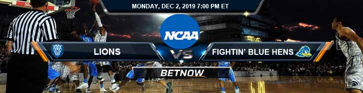 Columbia Lions vs Delaware Fightin' Blue Hens 12-02-2019 Preview Spread and Odds