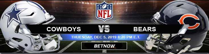 Dallas Cowboys vs Chicago Bears 12-05-2019 Picks Predictions and Preview