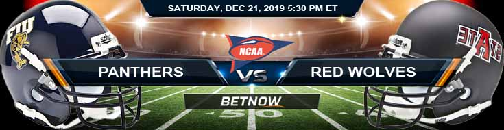 FIU Panthers vs Arkansas State Red Wolves 12-21-2019 Picks Predictions and Spread