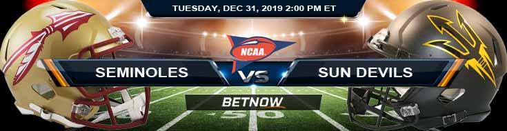 Florida State Seminoles vs Arizona State Sun Devils 12-31-2019 Odds Picks and Previews