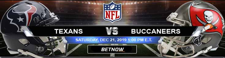 Houston Texans vs Tampa Bay Buccaneers 12-21-2019 Picks Predictions and Previews