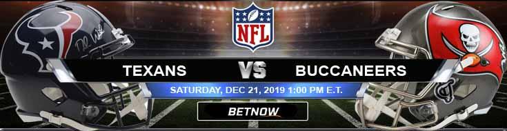 Houston Texans vs Tampa Bay Buccaneers 12-21-2019 Picks Predictions and Previews