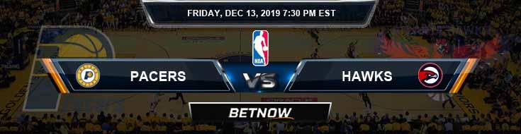Indiana Pacers vs Atlanta Hawks 12-13-19 NBA Picks and Game Analysis