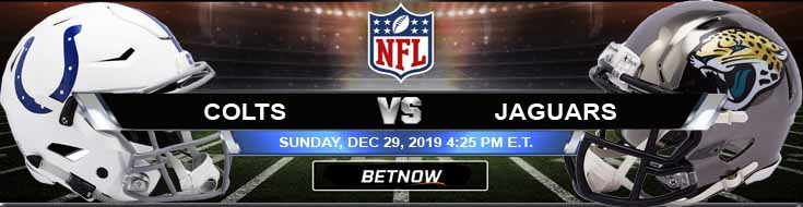 Indianapolis Colts vs Jacksonville Jaguars 12-29-2019 Odds Picks and Spread