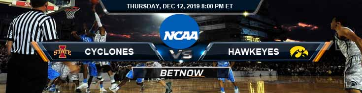 Iowa Hawkeyes vs Iowa State Cyclones 12-12-2019 Odds Predictions and Game Analysis