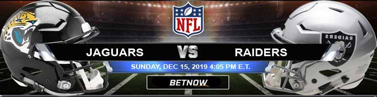 Jacksonville Jaguars vs Oakland Raiders 12-15-2019 Odds Predictions and Game Analysis