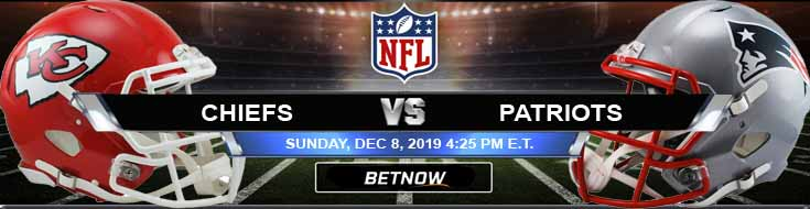 Kansas City Chiefs vs New England Patriots 12-08-2019 Game Analysis Predictions and Picks