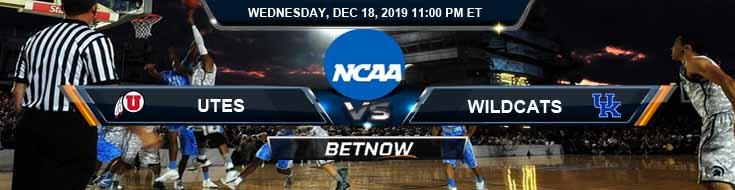 Kentucky Wildcats vs Utah Runnin' Utes 12-18-2019 Game Analysis Odds and Picks