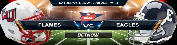 Liberty Flames vs Georgia Southern Eagles 12-21-2019 Odds Previews and Spread