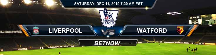 Liverpool vs Watford 12-14-2019 Picks Online Soccer Betting and Predictions