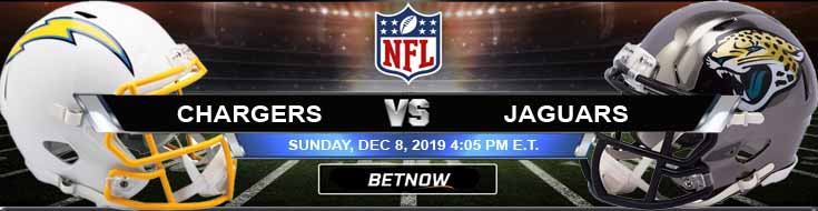 Los Angeles Chargers vs Jacksonville Jaguars 12-08-2019 Picks Predictions and Previews