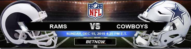 Los Angeles Rams vs Dallas Cowboys 12-15-2019 Odds Picks and Game Analysis