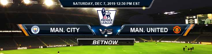 Manchester City vs Manchester United 12-07-2019 Odds Spread and Picks