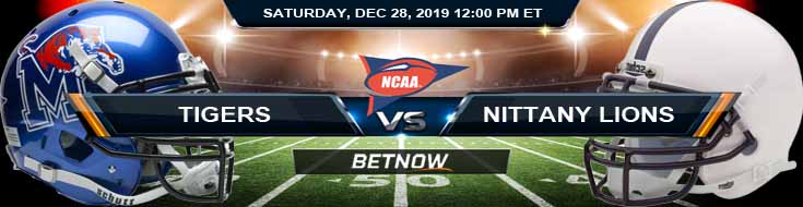Memphis Tigers vs Penn State Nittany Lions 12-28-2019 Game Analysis Odds and Previews