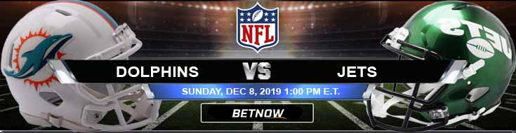 Miami Dolphins vs New York Jets 12-08-2019 Picks Predictions and Game Analysis