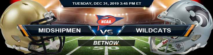 Navy Midshipmen vs Kansas State Wildcats 12-31-2019 Picks Predictions and Previews