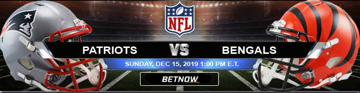 New England Patriots vs Cincinnati Bengals 12-15-2019 Game Analysis Picks and Preview