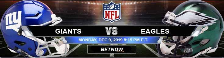 New York Giants vs Philadelphia Eagles 12-09-2019 Picks Preview and Predictions