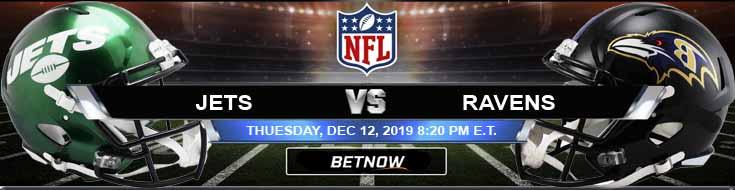 New York Jets vs Baltimore Ravens 12-12-2019 Picks Odds and Game Analysis
