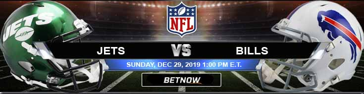 New York Jets vs Buffalo Bills 12-29-2019 Odds Spread and Previews