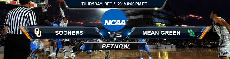 Oklahoma Sooners vs North Texas Mean Green 12-05-2019 Preview Game Analysis and Picks