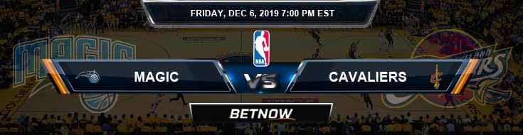 Orlando Magic vs Cleveland Cavaliers 12-6-2019 Spread Picks and Prediction