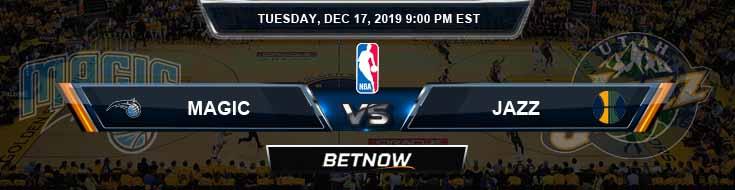 Orlando Magic vs Utah Jazz 12-17-19 NBA Spread and Game Analysis