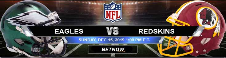 Philadelphia Eagles vs Washington Redskins 12-15-2019 Game Analysis Odds and Picks
