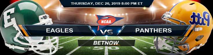 Pittsburgh Panthers vs Eastern Michigan Eagles 12-26-2019 Game Analysis Odds and Picks