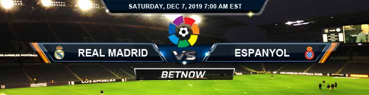 Real Madrid vs Espanyol 12-07-2019 Online Soccer Betting Picks and Predictions