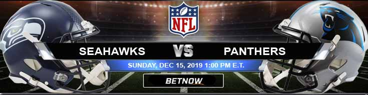 Seattle Seahawks vs Carolina Panthers 12-15-2019 Odds Predictions and Picks