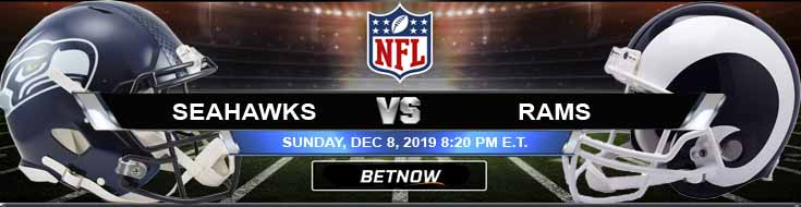Seattle Seahawks Vs Los Angeles Rams 12 08 2019 Preview And Odds