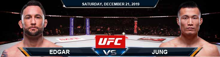 UFC Fight Night 165 Frankie Edgar vs Chan Sung Jung 12-21-2019 Picks Predictions and Previews